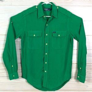 Polo by Ralph Lauren Linen Silk Button Down Shirt